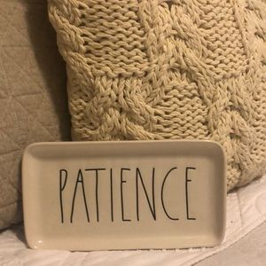 Patience plate